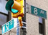 ストリート標識